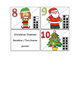 Christmas number and ten frame puzzle
