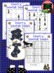 Christmas / Winter Snowfall Sudoku Puzzle Bundle