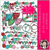 Christmas page breaks etc. clip art - COMBO PACK - Melonhe