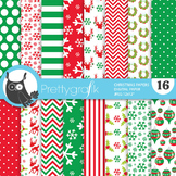Christmas papers, commercial use, scrapbook papers, - PS770