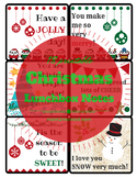 Christmas printable lunchbox notes