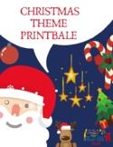 Christmas printable worksheets