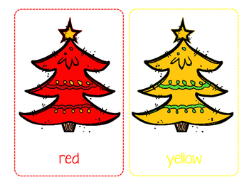Christmas printables: color cards