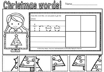 Christmas puzzles(FREE- FEEDBACK CHALLENGE)