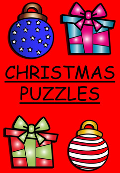 Christmas puzzles and activities