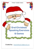 Christmas questions and games ( Printer Friendly)