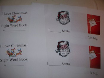 Christmas reading handouts