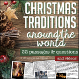 Reading Comprehension Passages & Questions: Christmas Arou