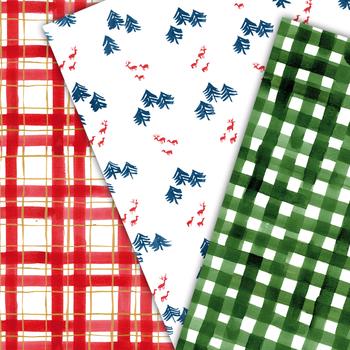 Christmas seamless pattern, holiday background,