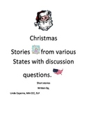 Christmas short stories with questions.