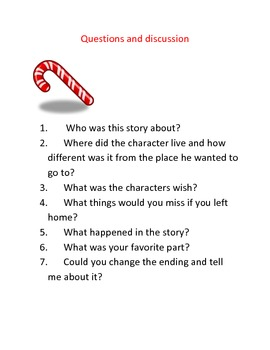 Christmas short stories with questions