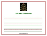 Christmas sight word sentences for reading and writing practice