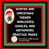 Christmas Analogies, Similes, and Metaphors Practice