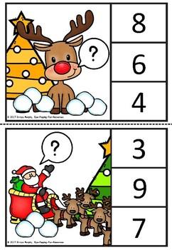 Christmas snowball count.