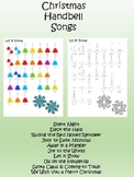 Christmas songs for hand bells or iPad xylophone app