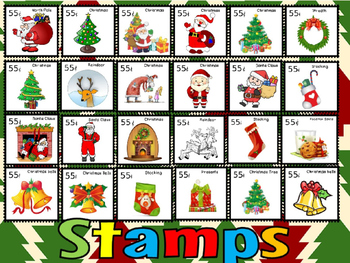 Christmas stamps and coverpage(FREE-FEEDBACK CHALLENGE)