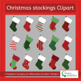 Christmas stockings clip art