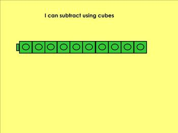 Christmas subtraction strategies notebook