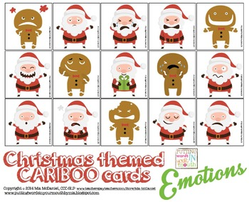 Cariboo for Emotions Christmas themed FREEBIE!