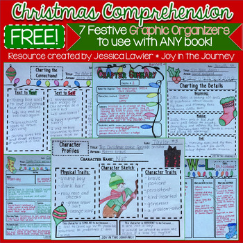 Christmas Reading Comprehension Graphic Organizers to Use