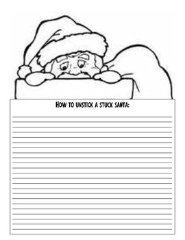 "Christmas-themed ""How-To"" Writing Activities and Transitional Words"