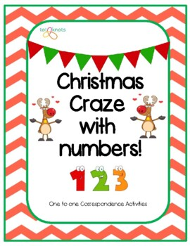 Christmas themed One to One Correspondence