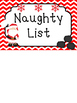 Christmas themed Printable Behavior Clip Chart. Behavior Management