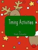 Christmas timing activies