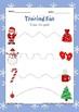 Christmas tracing and color fun