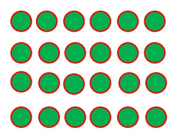 Christmas Tree Math - Subtracting within 10 Game for Common Core
