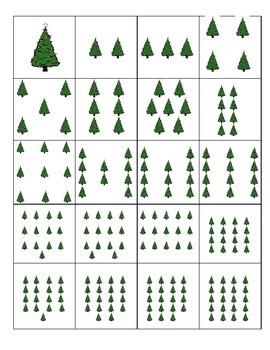 Christmas tree Memory, Christmas tree Concentration