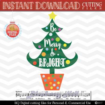 Christmas tree SVG - Christmas tree svg - Christmas SVG - Xmas svg