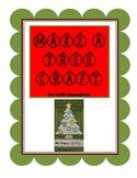 Christmas tree craft freebie