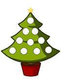 Christmas tree token board
