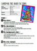 Christmas Tree Under the Stars:  Art Activy and Lesson for Kids