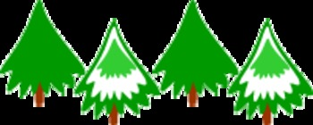 Christmas trees for test
