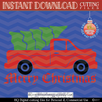 Christmas truck with tree svg, Christmas truck svg , Christmas tree , Xmas truck