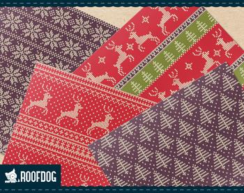Christmas ugly sweater—Seasonal Nordic Knit pattern