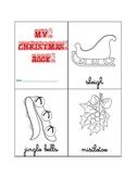 Christmas vocabulary booklet