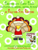 Christmas with Turkey Claus! {activities for reading, writing, & math}