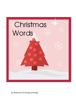 Christmas words exercise