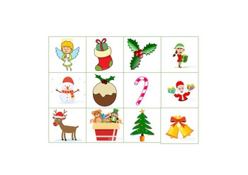Christmas words printable literacy activities