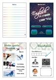 Christmas work-booklet