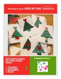 Christmas Wrap Up: Fabric Gift Bags {craftivity}