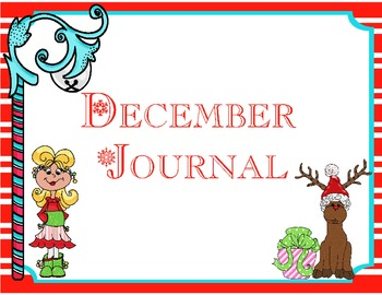 Christmas writing papers (primary)