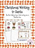 Christmas writing to Santa