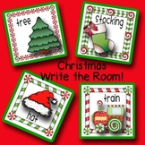 Christmas/December Differentiated Write the Room Activity