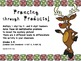 Christmas/Hanukkah/Kwanzaa Multiplication Hidden Pictures bundle, 3 levels each