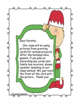 Christmas Holiday Card Activities