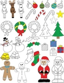 Christmas/Holiday Clip Art FREE